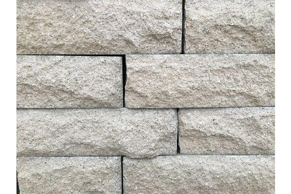 Pitched Face Walling Blocks - Natural Grey