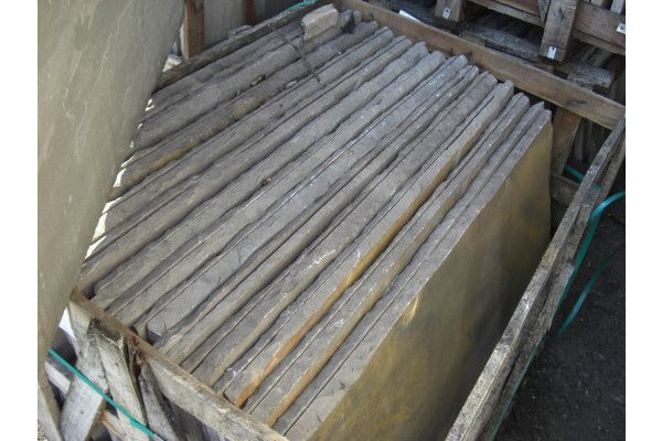 Indian Sandstone Paving - Raj Green - Patio Pack - Thicker Depth (Split Pack)