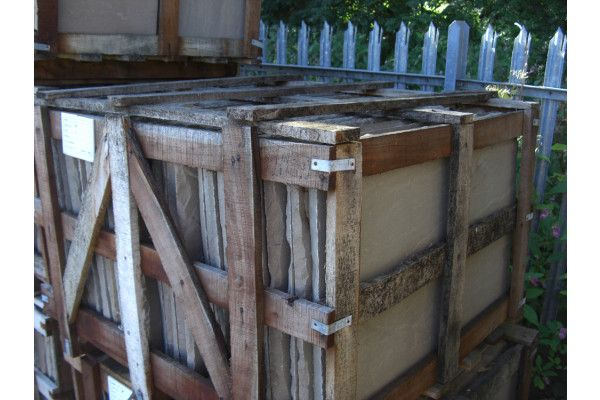 Raj Green Indian Sandstone Paving - Crate 4