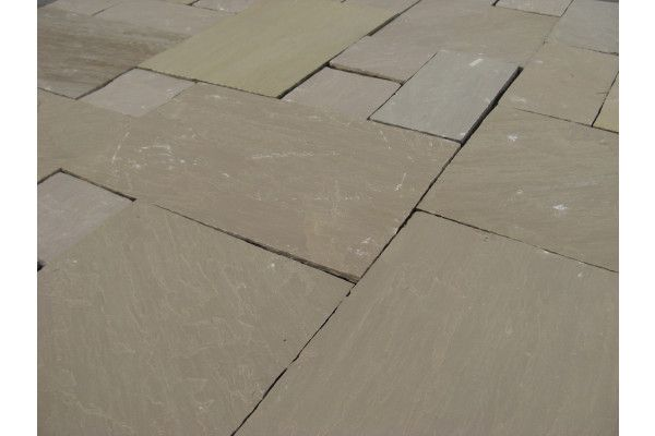 Autumn Brown Paving - Single Sizes (Individual Slabs)