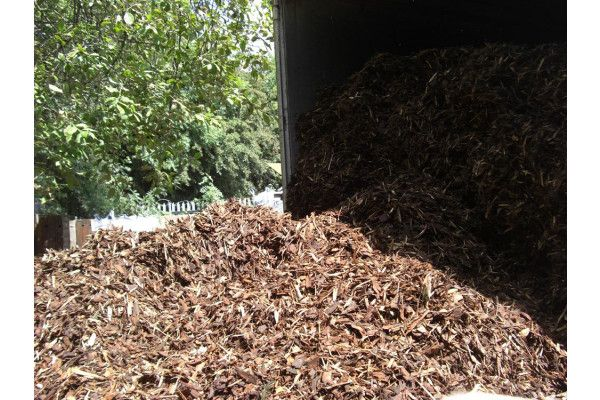 Decorative Bark Chippings - Spruce - Bulk Bag