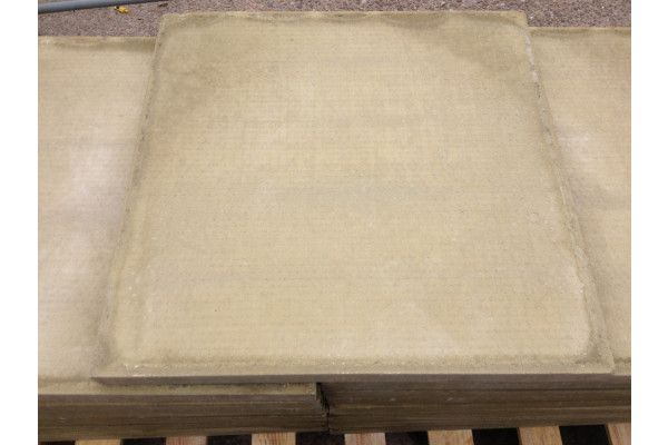 Cheap Paving Slabs - Smooth - Buff - 600 x 600mm (Individual Slabs)