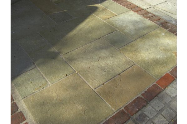 Indian Limestone Paving - Sandur Yellow - Patio Packs