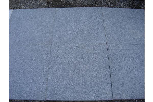 Natural Granite Paving - Dark Grey - Patio Pack