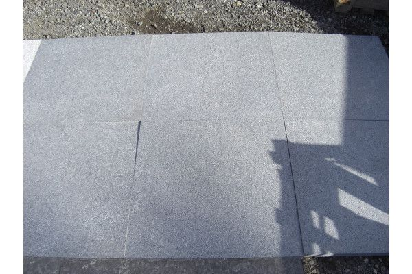 Dry Dark Grey Granite