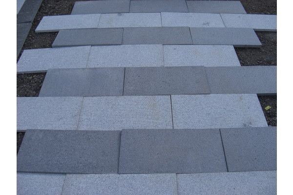 Natural Granite Paving - Dark Grey - Single Sizes