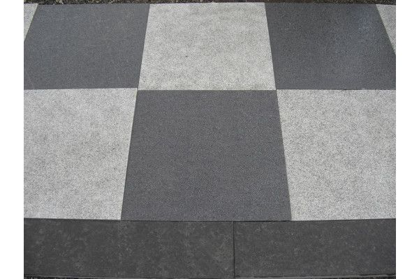 Black Granite Planked Paving Landscaping Supplies Direct