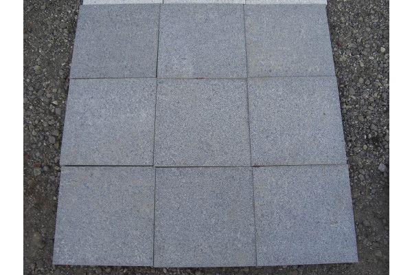 Natural Granite Paving - Light Grey - Single Sizes (Individual Slabs)