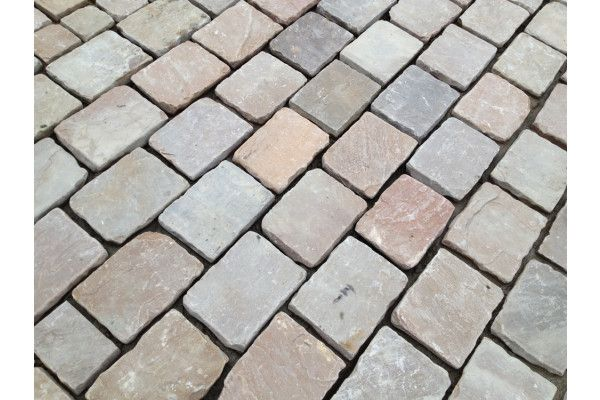 Indian Sandstone Cobbles - Tumbled Himalayan
