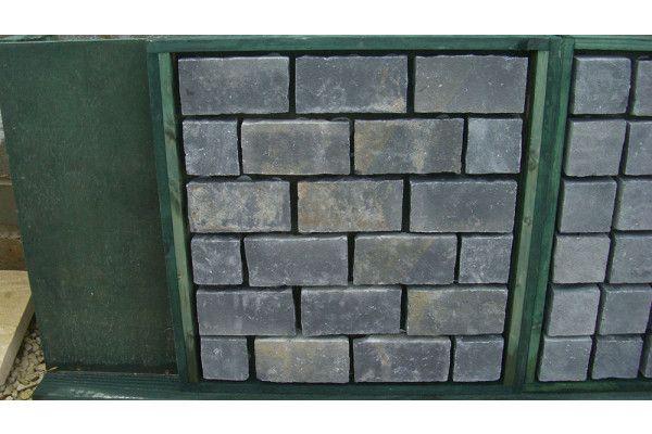 Indian Limestone Cobbles (Setts) - Midnight (Kota Black) - Single Sizes (Individual Setts)