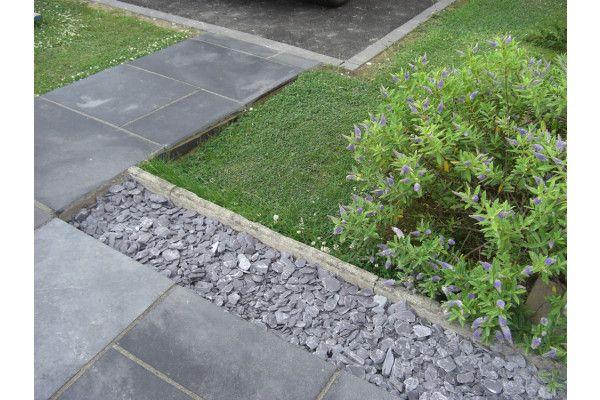 Indian Limestone Paving - Sawn Midnight Kota Black - Calibrated - Single Sizes