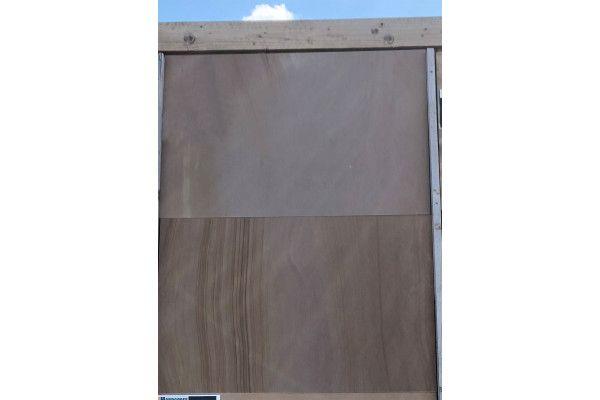 Indian Sandstone Paving - Polished Woodland - 900 x 600mm - Slab