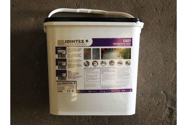 Jointex - Easy Joint - Pointing Mortar - Basalt 15Kg
