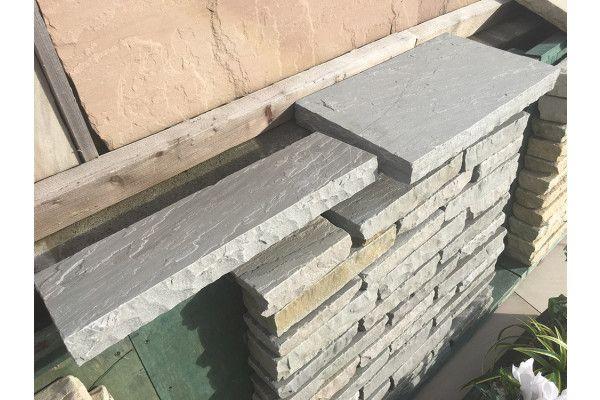 Natural Indian Sandstone Copings - Kandla Grey (Individual Copings)