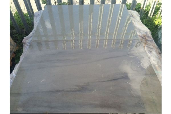 Indian Sandstone Paving - Polished Kandla Grey - 900 x 600mm