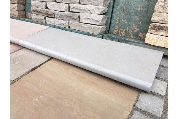 Indian Sandstone Steps - Polished Kandla Grey