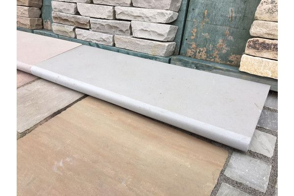 Indian Sandstone Steps - Polished Kandla Grey