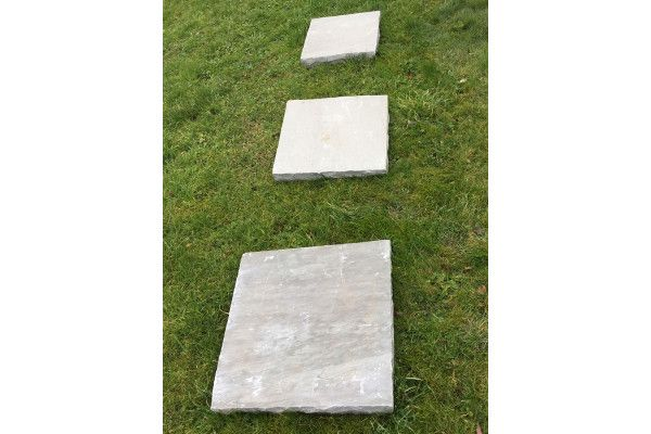 Natural Indian Sandstone - Kandla Grey - Walling Pier Caps 2