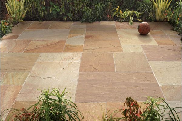 Strata Stones - Kendal Collection - Camel - Patio Pack