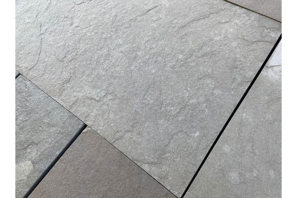 Indian Limestone Paving - Sawn Kurnool Grey - Calibrated - Patio Pack