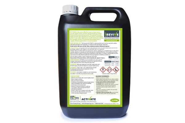 Irevive - Activate Ultimate Patio Cleaner - Moss Remover - 5ltr