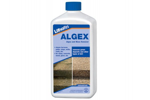 Lithofin - Algex - Moss and Mould Remover - 1ltr