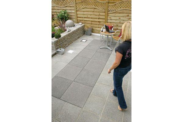 Marshalls - Argent Paving - Dark - Smooth - Pressed Concrete - Single Sizes