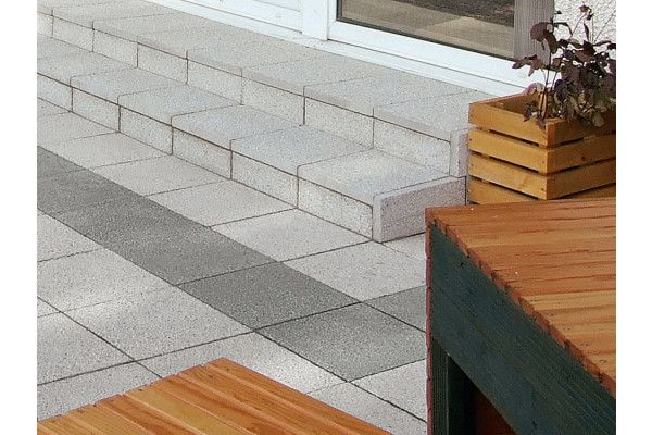 Marshalls - Argent Paving - Light - Coarse - Pressed Concrete - Single Sizes