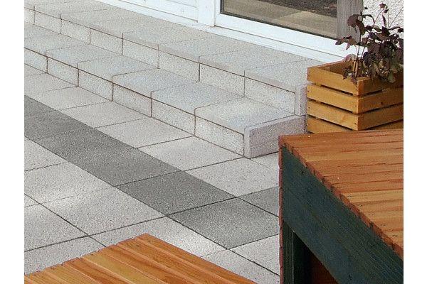 Marshalls - Argent Paving - Light - Coarse - Pressed Concrete - Single Sizes (Individual Slabs)