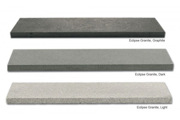 Marshalls - Eclipse Natural Granite Paving - Dark - 800 x 200mm