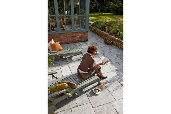 Marshalls - Fairstone Antique Alverno Garden Paving - Silver Limestone Multi - Project Pack