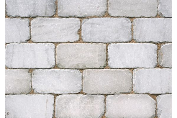 Marshalls - Fairstone Natural Stone Setts - Sawn and Tumbled - Silver Birch - 200 x 100mm - 1m2