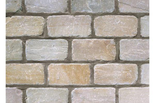 Marshalls - Fairstone Natural Stone Setts - Split and Tumbled - Autumn Bronze - Singles Sizes (Individual Setts)