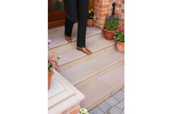 Marshalls - Fairstone Sawn Versuro Steps - Autumn Bronze