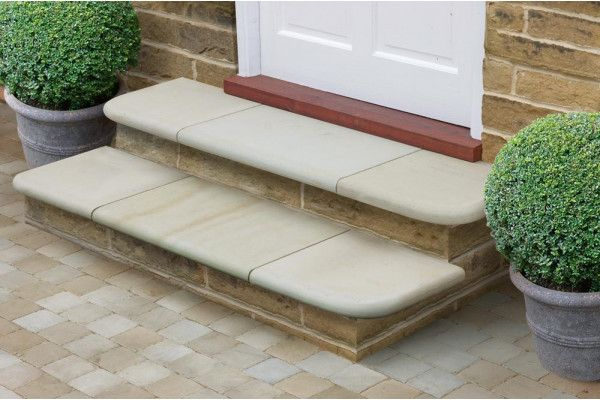 Marshalls - Fairstone Sawn Versuro Steps - Antique Silver (Individual Steps)