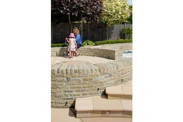 Marshalls - Fairstone Traditional Stone Walling - Autumn Bronze - Pitched