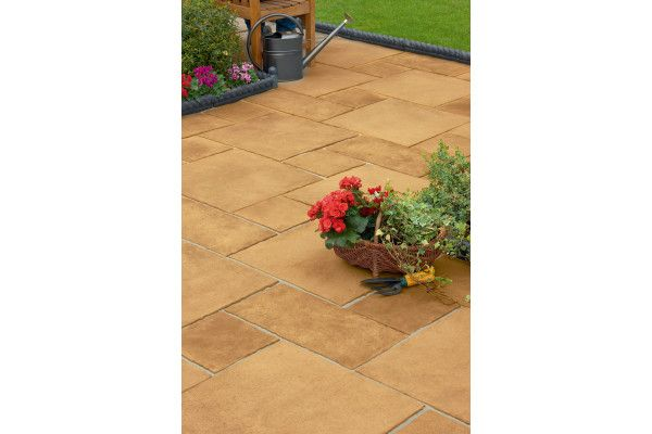 Marshalls - Firedstone Paving - Sunrise - Single Sizes