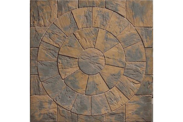 Marshalls - Heritage Paving - Circle - Calder Brown