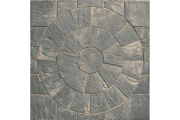 Marshalls - Heritage Paving - Circle - Old Yorkstone