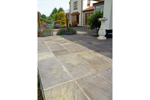 Marshalls - Heritage Paving - Old Yorkstone - Single Sizes (Individual Slabs)