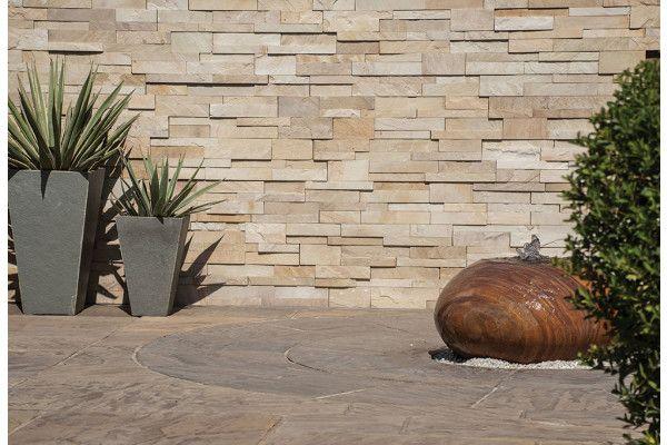 Strata Stones - Meridian Wall Cladding - Split - Mint - 600 x 150 x 10-30mm
