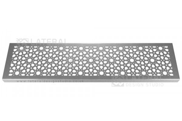Aquascape - Drainage Channel Cover - Stainless Steel Grate - Morisco