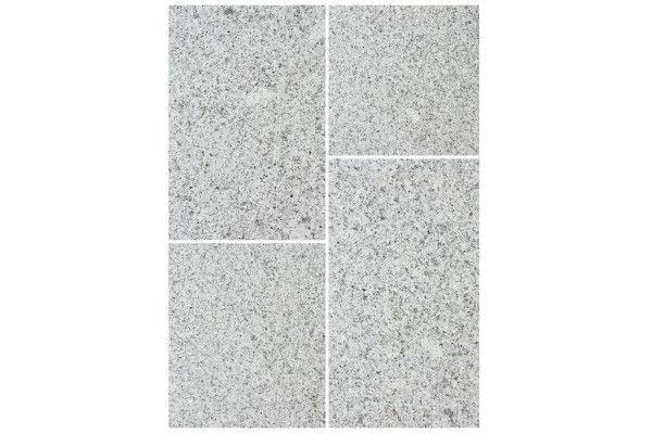 Bradstone - Natural Granite Paving - Silver Grey - Single Sizes (Individual Slabs)