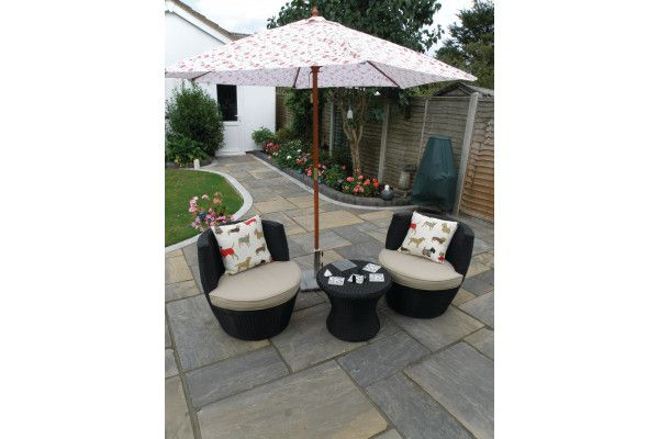 Natural Paving - Classicstone - Calibrated - Graphite - Project Pack