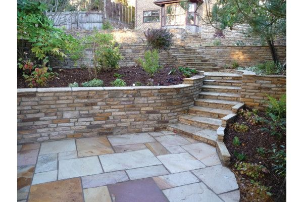 Natural Paving - Cottagestone Walling - Golden Fossil - 1m2