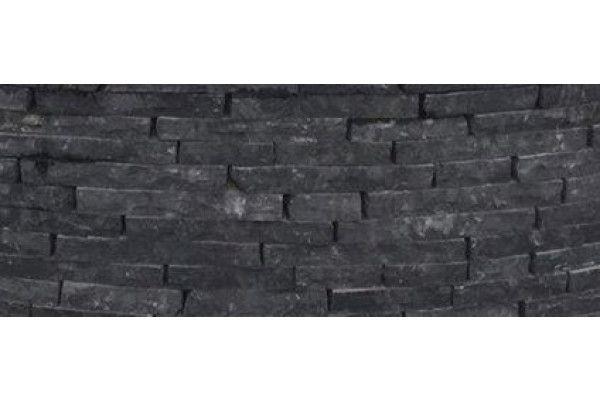Natural Paving - Cottagestone Walling - Carbon Black - 1m2