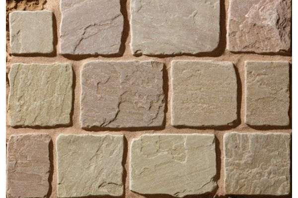 Natural Paving - Cragstone Cobbles - Meadow