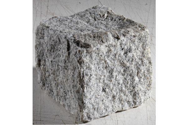 Natural Paving - Cragstone - Granite Setts - Silver Grey - 100 x 100mm