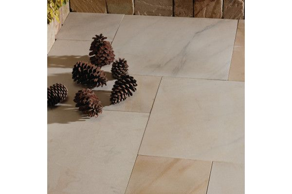 Natural Paving - Premiastone - Ivory - Project Pack