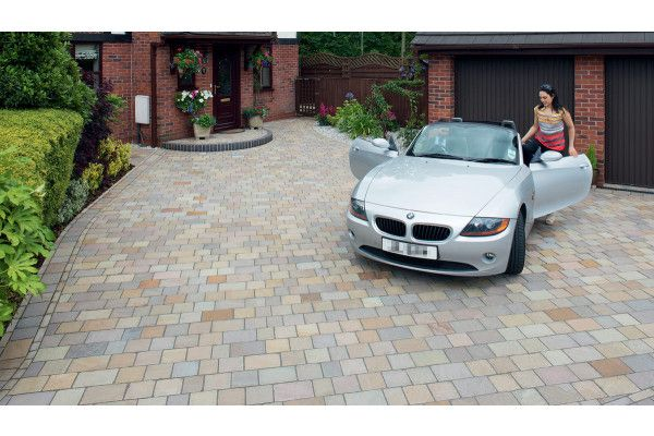Marshalls - Fairstone Driveway Natural Stone Setts - Autumn Bronze - Project Pack